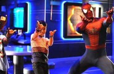 Spiderman On Board the Wonder